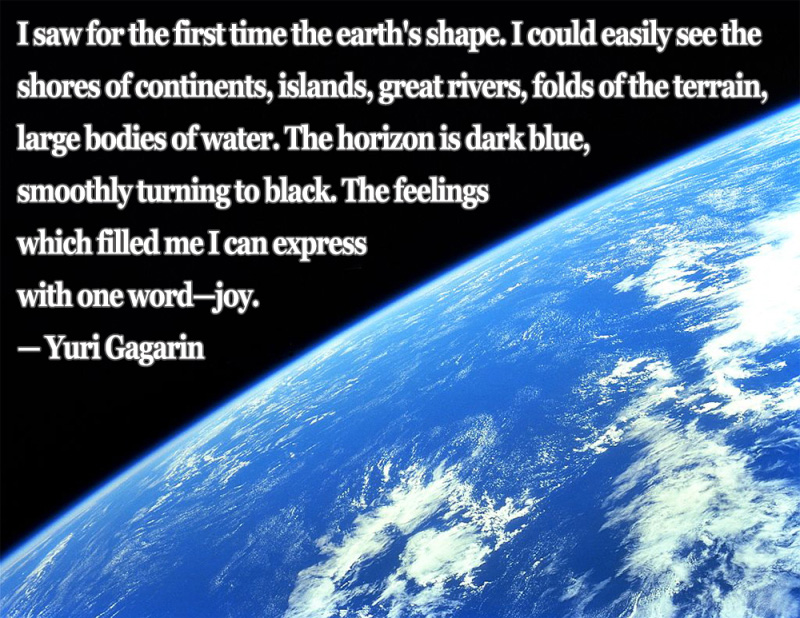 Astronaut Quote 7 Yuri Gagarin