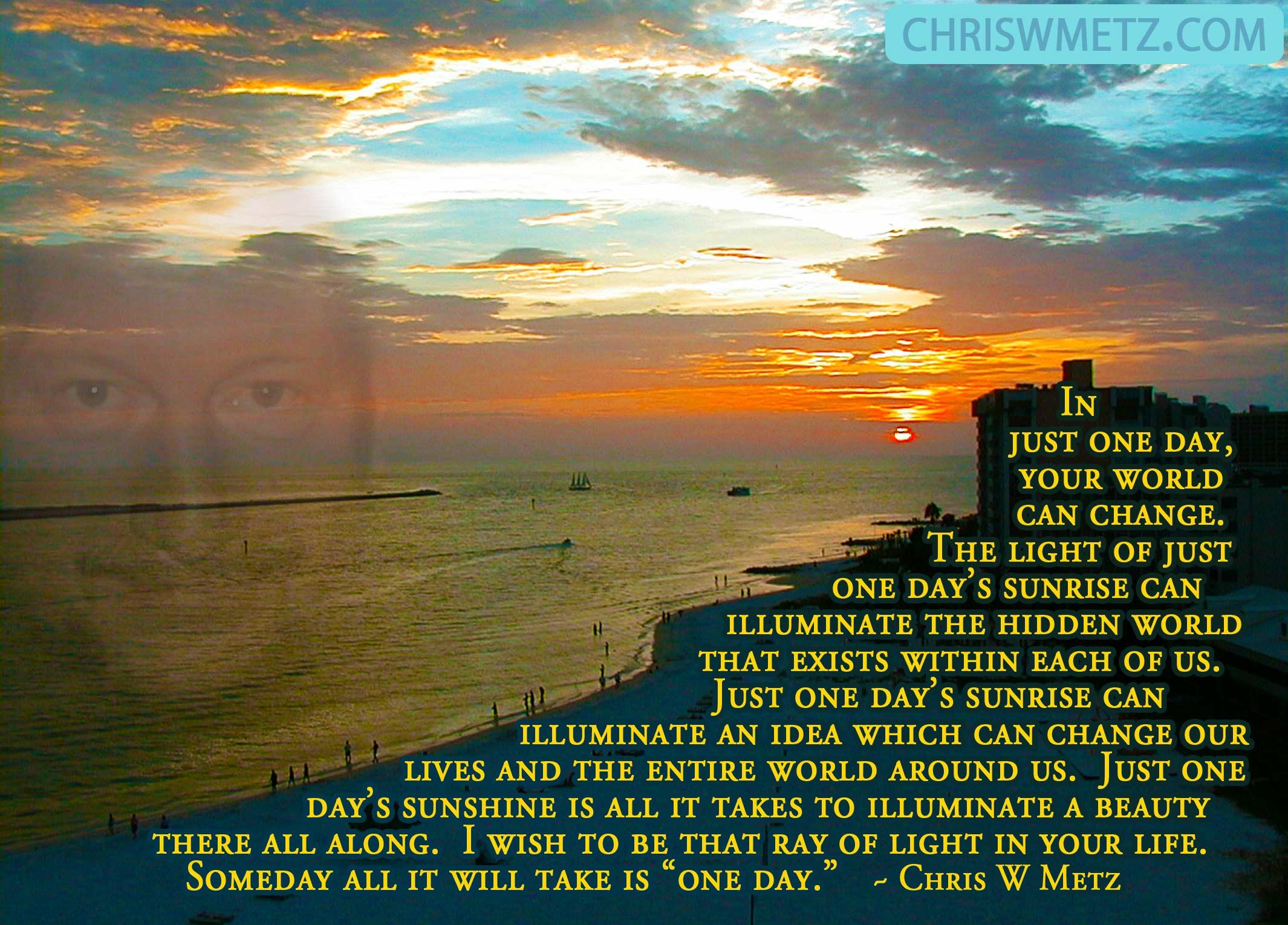 Enlightenment Quote 14 Chris W Metz