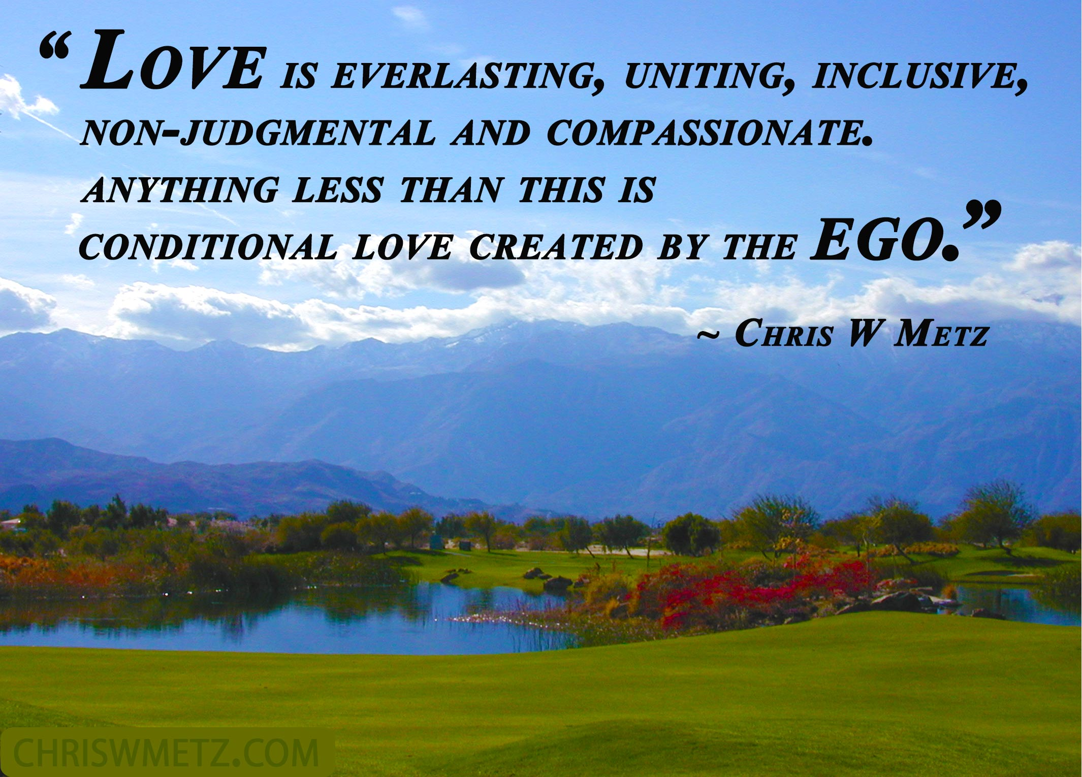 Love Quote 54 Chris W Metz