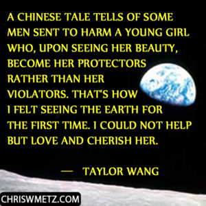 Astronaut Quote 5 Taylor Wang chriswmetz.com