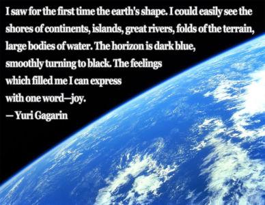 Astronaut Quote 7 Yuri Gagarin chriswmetz.com