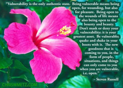 Authenticity Vulnerability Quote 2 Steven Russell