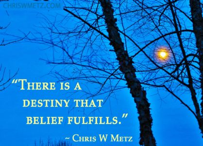 Beliefs Quote 1 belief fulfills Chris Metz