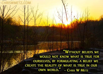 Beliefs Quote 11 Reality Chris Metz