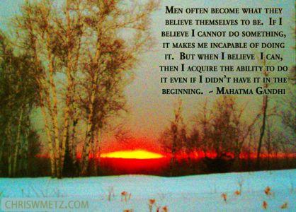 Beliefs Quote 2 Mahatma Ghandi