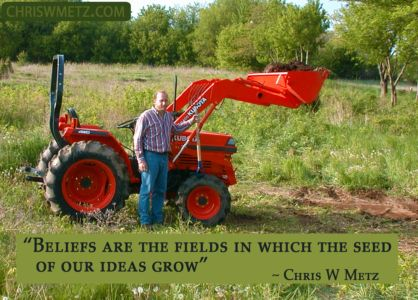 Beliefs Quote 8 Ideas Grow Chris Metz