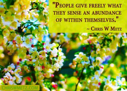 Character Quote 8 Chris Metz chriswmetz.com