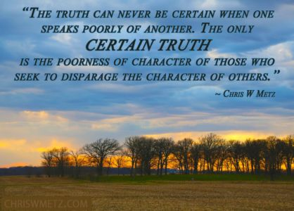 Character Quote 9 Poorness Of Character Chris W Metz chriswmetz.com