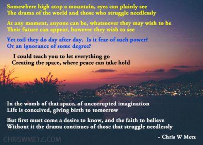 Conscious Creation Manifesting Quote 4 Chris Metz chriswmetz.com
