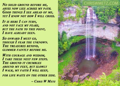 Courage Quote 4 The Abyss Chris W Metz