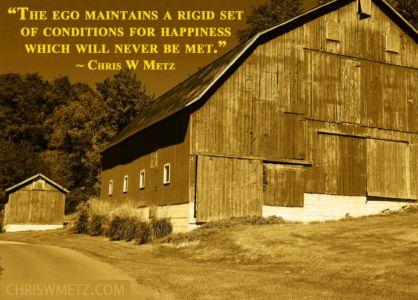 Ego Quote 31 Chris Metz chriswmetz.com