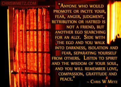 Ego Quote 33 Chris Metz chriswmetz.com