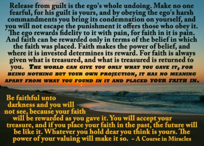 Ego Quote 4 Guilt ACIM chriswmetz.com