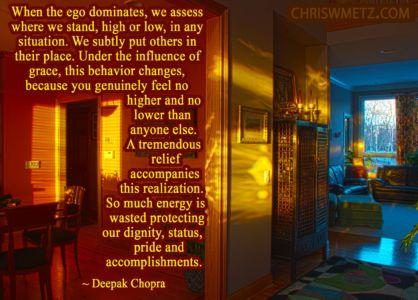 Ego Quote 8 Deepak Chopra chriswmetz.com