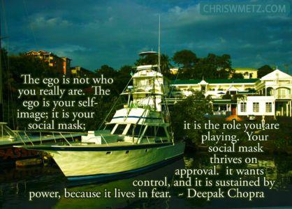 Ego Quote 9 Deepak Chopra chriswmetz.com