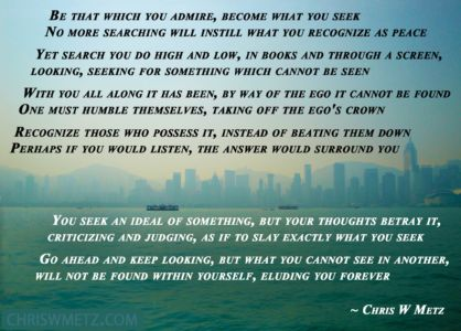 Enlightenment Quote 18 Chris Metz chriswmetz.com