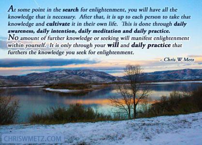 Enlightenment Quote 5 Chris Metz chriswmetz.com
