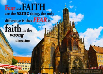 Fear Quote 10 Unknown chriswmetz.com