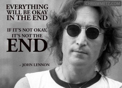 Fear Quote 12 John Lennon 12-8-1980 chriswmetz.com