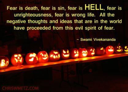 Fear Quote 13 Swami Vivekananda chriswmetz.com