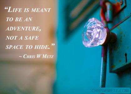 Fear Quote 16 Chris Metz chriswmetz.com