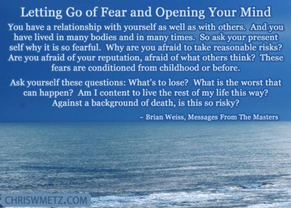 Fear Quote 8 Brian Weiss chriswmetz.com