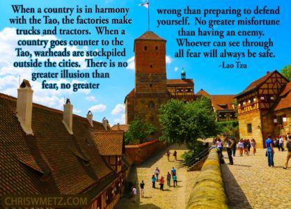Fear Quote 9 Lao Tzu chriswmetz.com