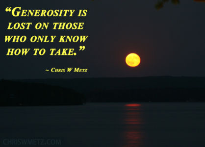 Giving Quote 16 Chris Metz chriswmetz.com