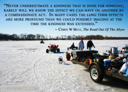 Giving Quote 4 Chris Metz - The Road Out Of The Abyss chriswmetz.com