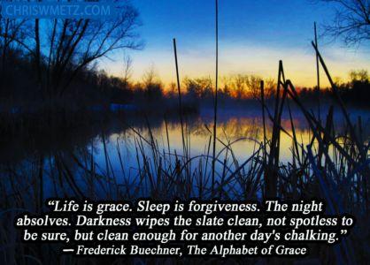 Grace Quote 1 Frederick Buechner chriswmetz.com