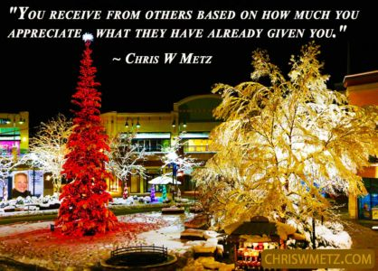 Gratitude Quote 23 Chris Metz chriswmetz.com