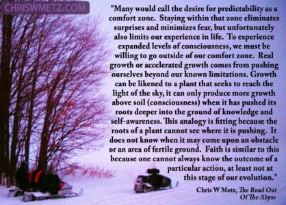Growth Quote 3 Chris Metz - The Road Out Of The Abyss chriswmetz.com