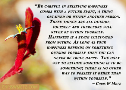 happiness within ones self Happiness Within Quote 21 Chriswmetz