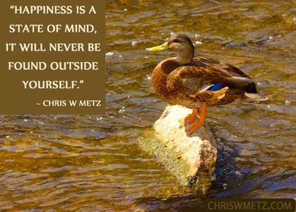 Happiness Quote 24 Chris Metz chriswmetz.com