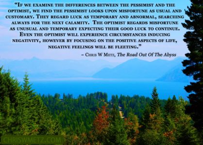 Happiness Quote 9 Chris Metz - The Road Out Of The Abyss chriswmetz.com