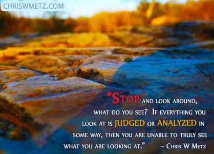 Judgment Quote 10 Chris Metz chriswmetz.com