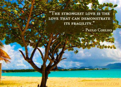 Love Quote 23 Paulo Coelho chriswmetz.com