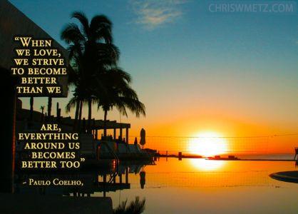 Love Quote 27 Paulo Coelho chriswmetz.com