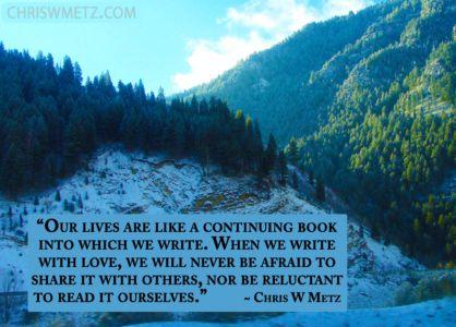 Love Quote 41 Chris Metz chriswmetz.com