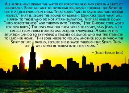 Soul Quote 7 Jesus - Secret Book Of John chriswmetz.com