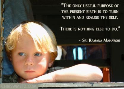 Soul Quote 9 Ramana Maharshi chriswmetz.com