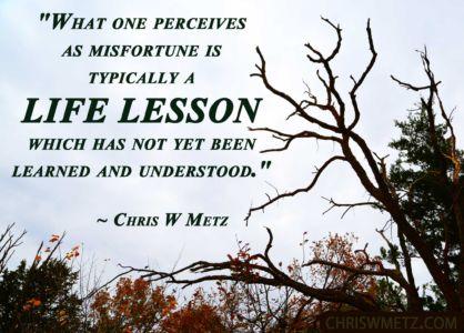 Wisdom Quote 18 Life Lesson Chris Metz