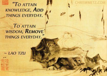 Wisdom Quote 3 Lao Tzu chriswmetz.com